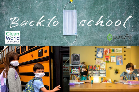 Air Purifiers used in Schools from Cleanworld Canada