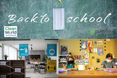 Back to School Air Purifiers for Schools and School Busses