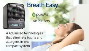 PureAir 3000 whole office classroom gym or home air and surface purifier