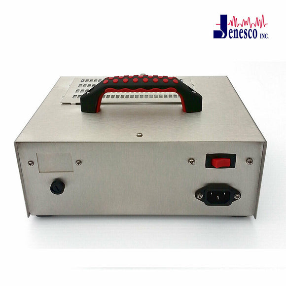 Jenesco FM-14 ozone generator, supplied by Canadian supplier CleanWorld, from a frontal view.