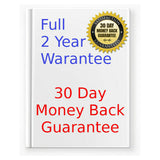 Pro-8s ozone generator 2 year warranty. 30 day money back guarantee.