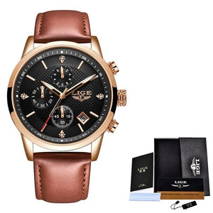 Top Luxury Watch Men Chronograph Waterproof Wrist Watch Man