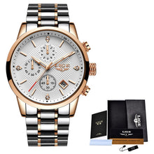 Load image into Gallery viewer, Top Luxury Watch Men Chronograph Waterproof Wrist Watch Man