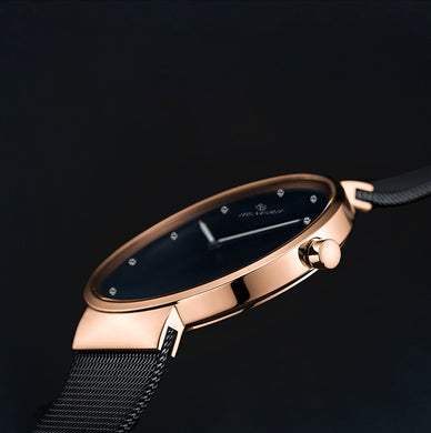 rose gold watches for ladies