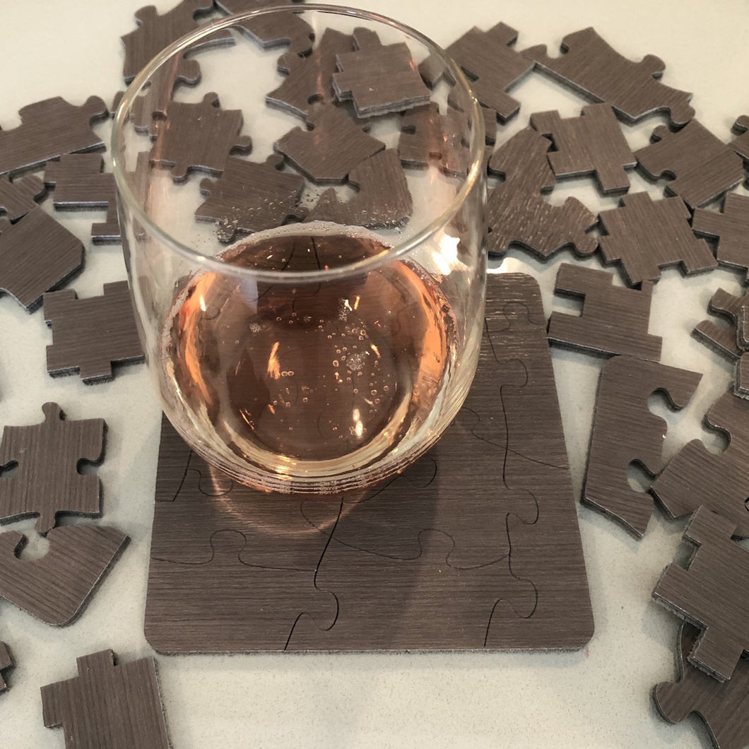 Mini Puzzles Coaster Sets of Six Unique Designs