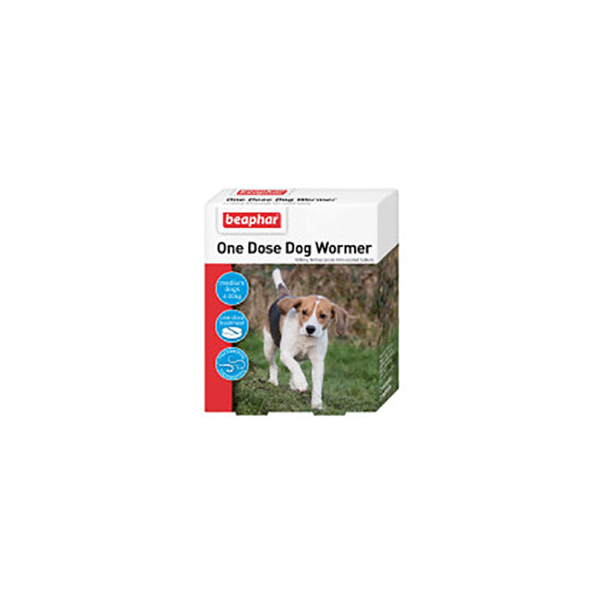 One Dose Wormer For Medium Dogs