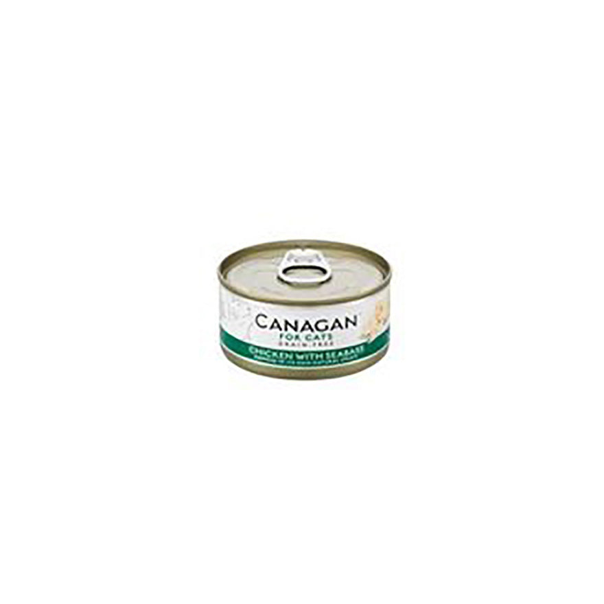 Canagan Cat Tin Chicken With Seabass - 75g