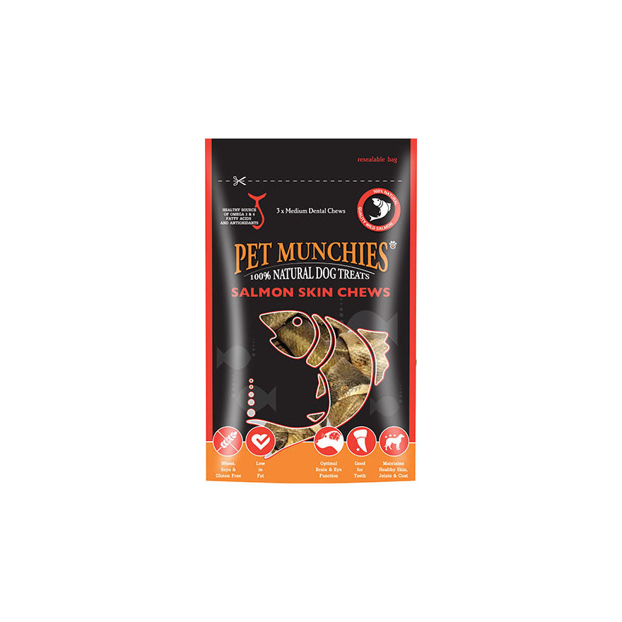 Pet Munchies Salmon Chews Medium