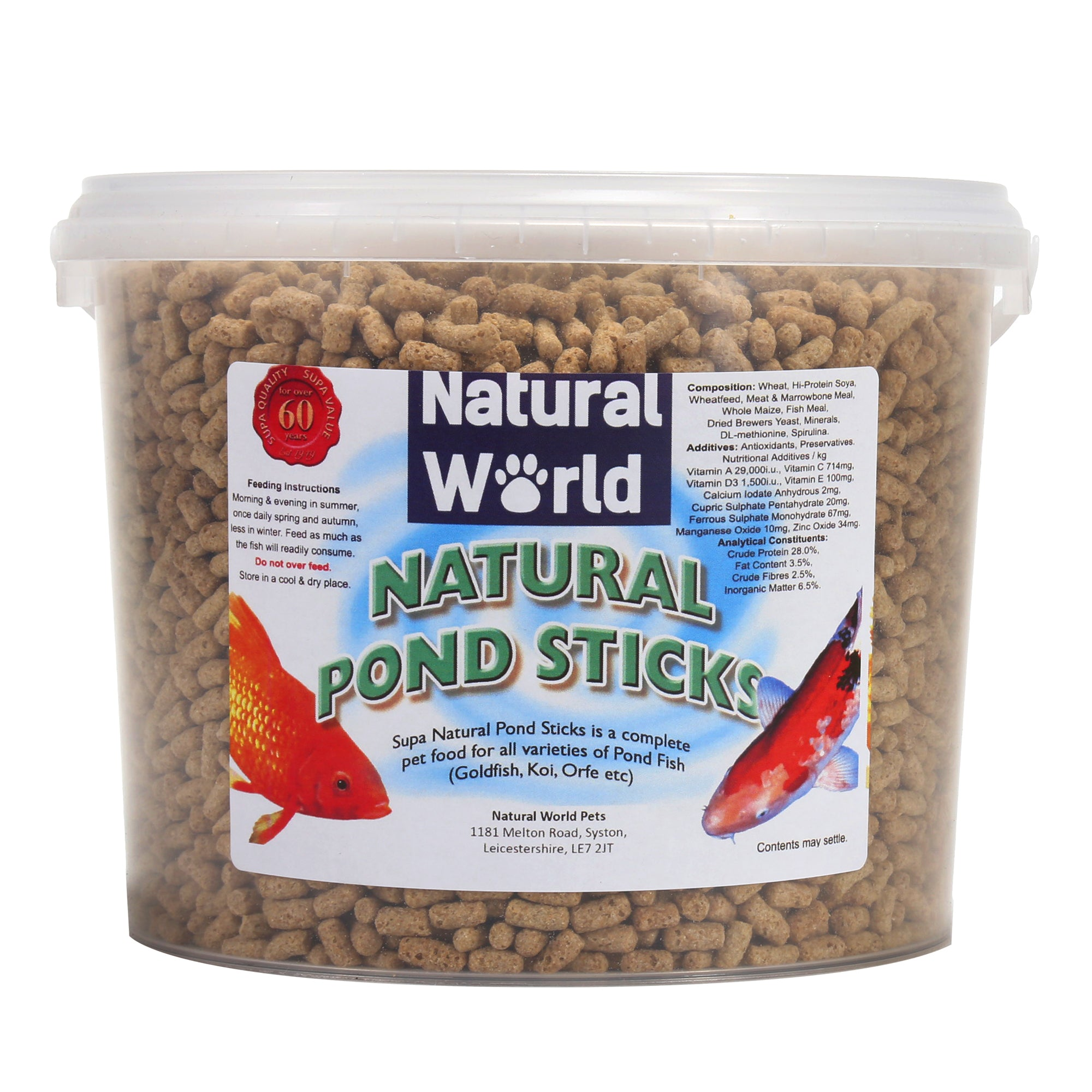 Natural World Pond Sticks