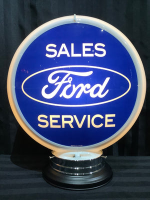 Open image in slideshow, Gas pump globe, Ford