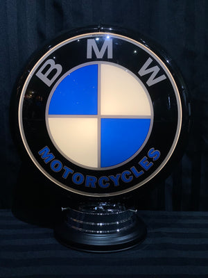 Open image in slideshow, Gas pump globe,BMW