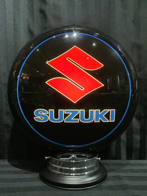 Open image in slideshow, Gas pump globe, Suzuki