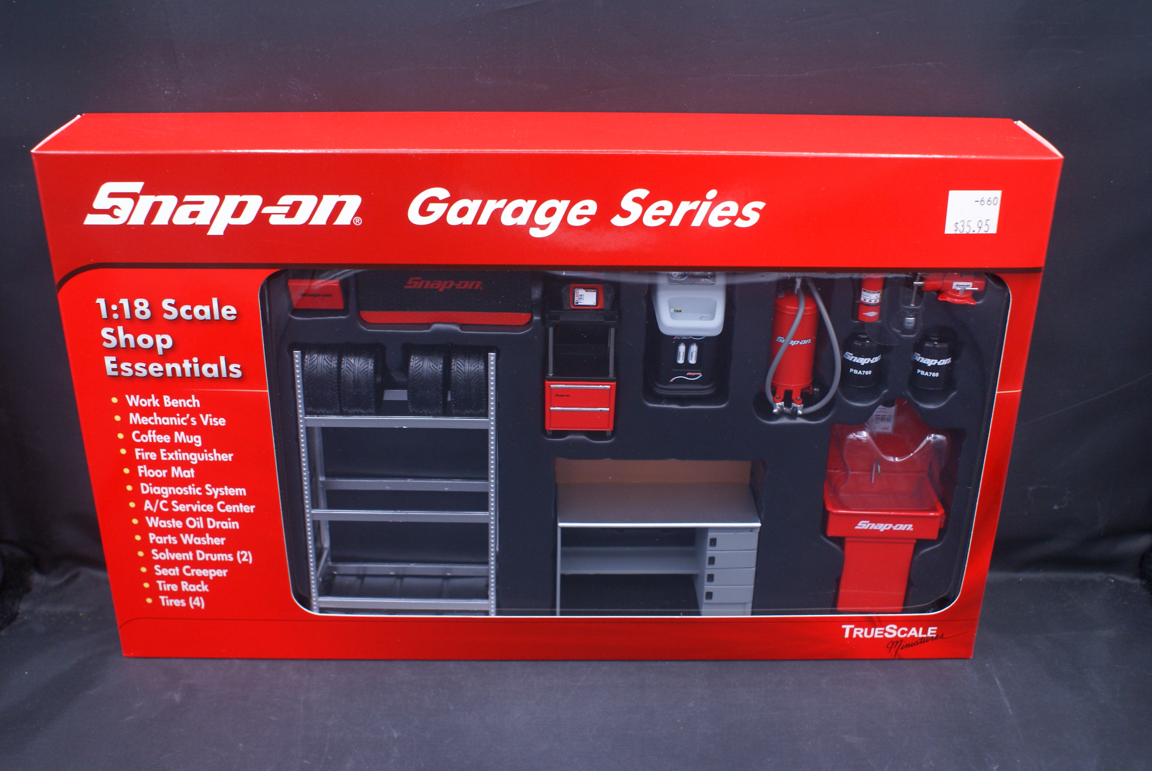 Snap-On Garage, Shop Essentials