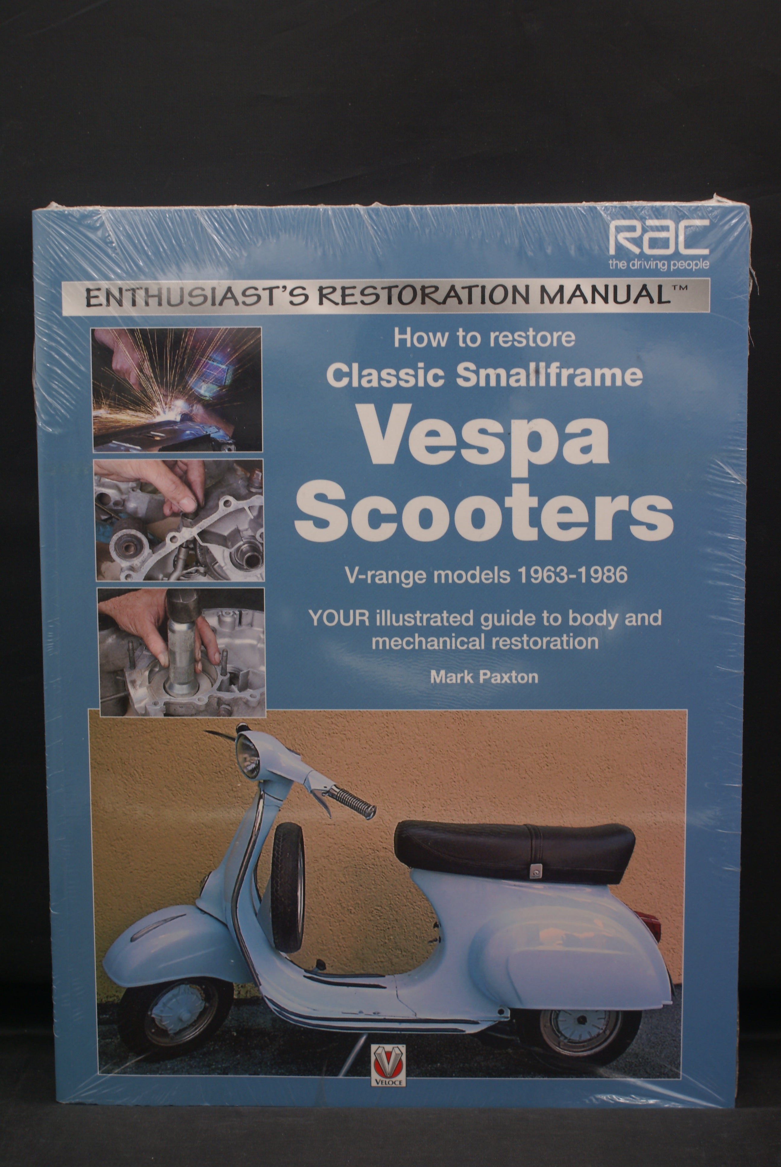 Vespa Scooters, Restoration Manual