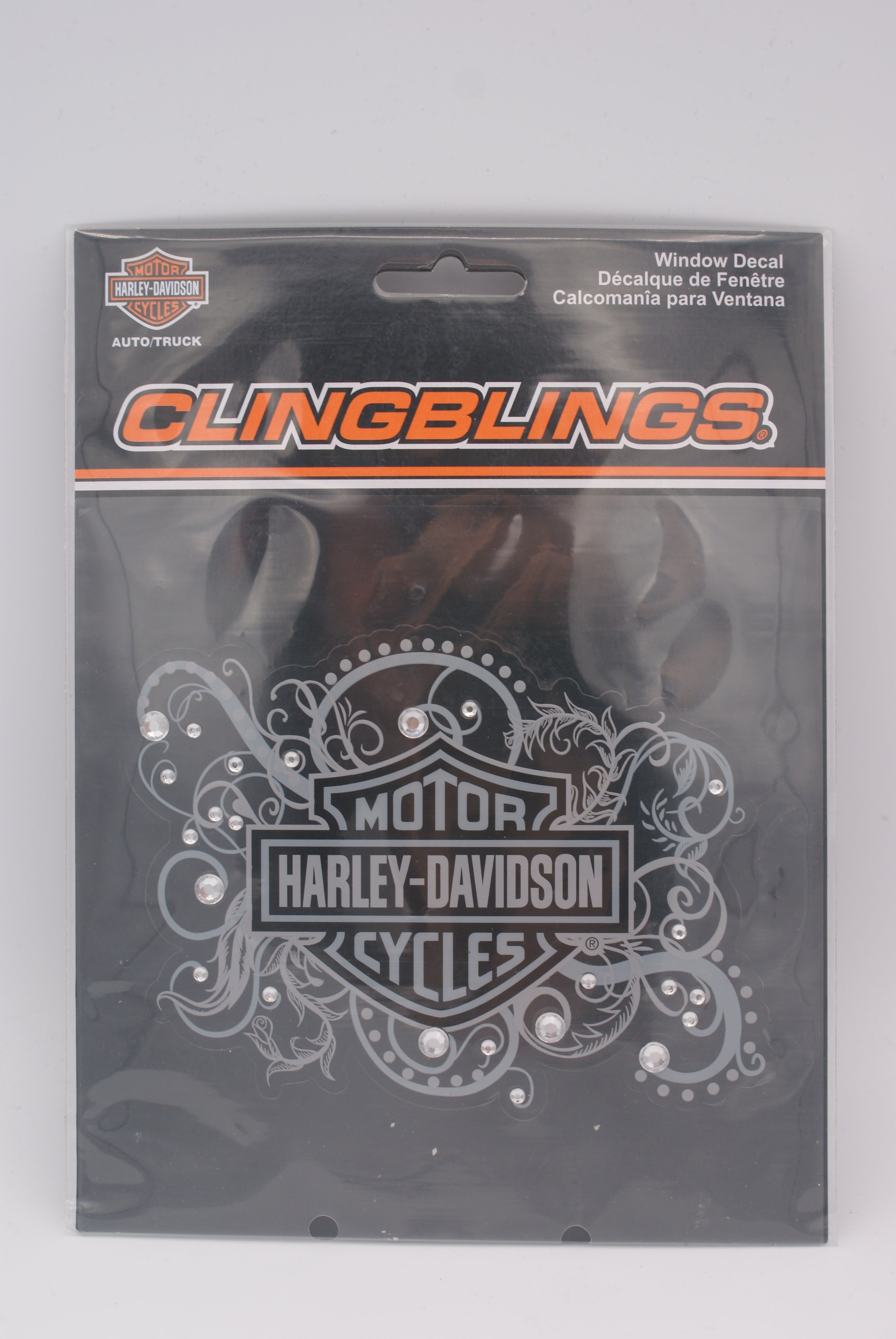 Harley-Davidson Decal, Bling