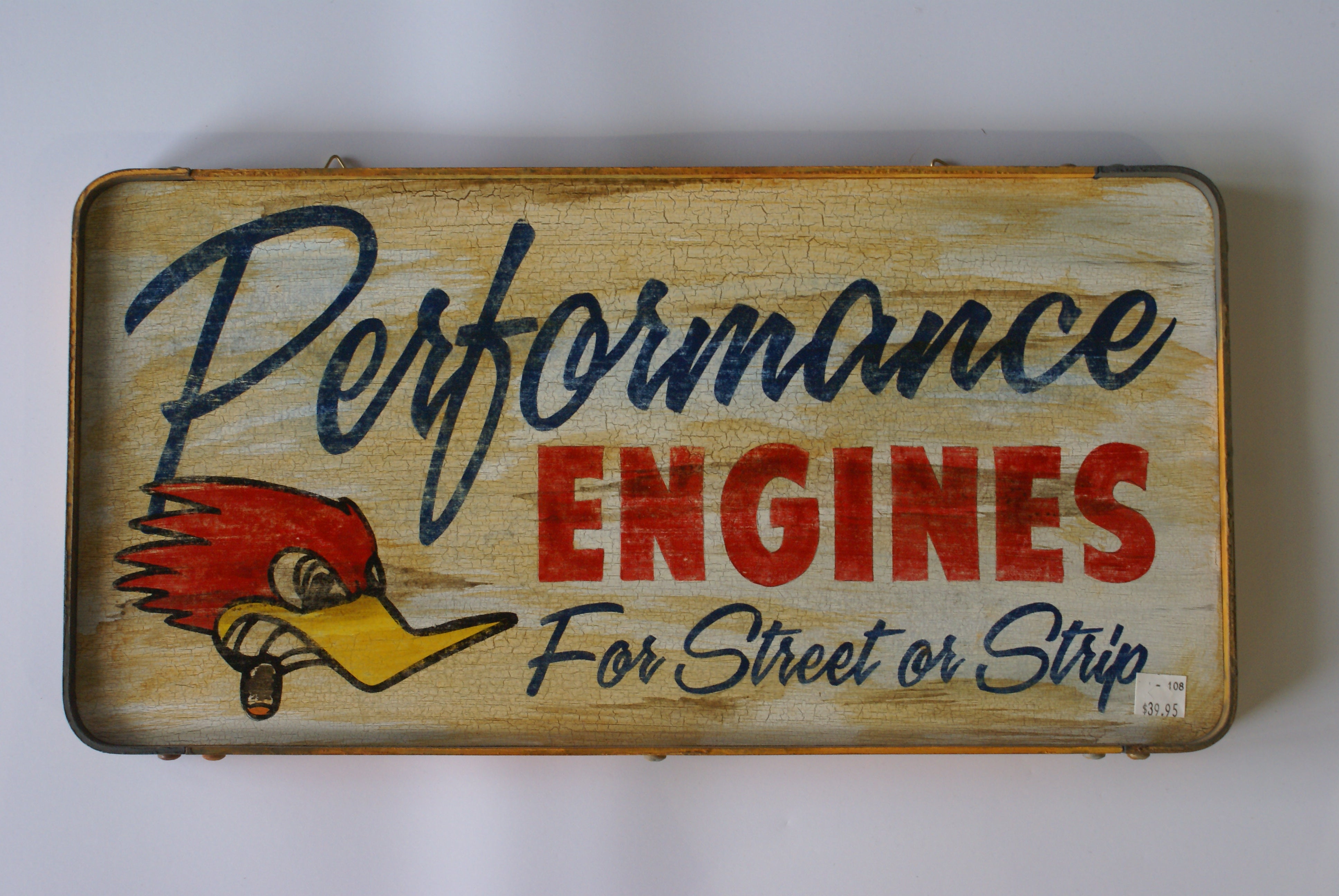 Wood Sign | Performance Engines