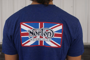Norton, Blue T shirt