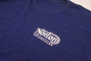 Open image in slideshow, Norton, Blue T shirt