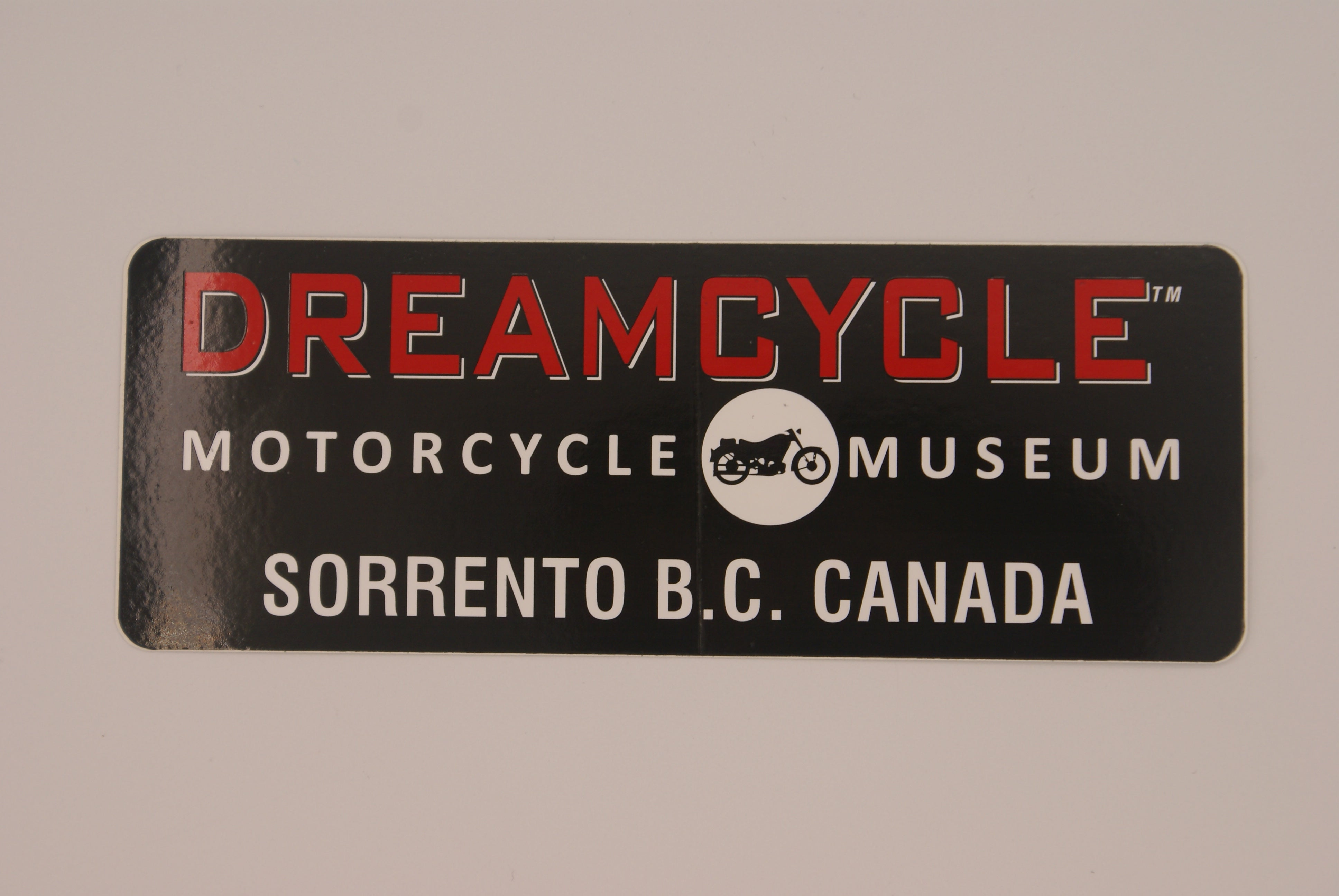 Dreamcycle Decal