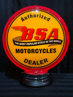 Open image in slideshow, Gas pump globe, BSA