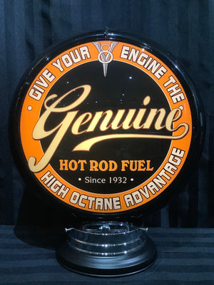 Open image in slideshow, Gas pump globe, Hot rod fuel