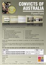 Click here to download the Convicts of Australia PowerPoint PDF