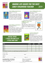 Click here to download the Early Childhood PDF