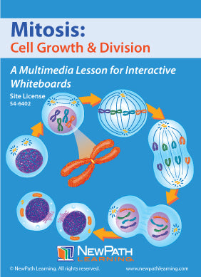Mitosis: Cell Growth & Division Multimedia Lesson (CD-ROM) W54-6202-W54-6402