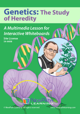 Genetics: The Study of Heredity Multimedia Lesson (CD-ROM) W54-6208-W54-6408
