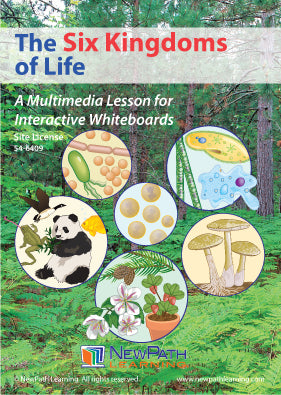 Six Kingdoms of Life Multimedia Lesson (CD-ROM) W54-6209-W54-6409