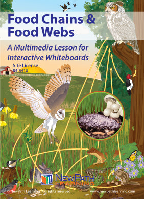 Food Chains & Food Webs Multimedia Lesson (CD-ROM) W54-6210-W54-6410
