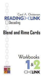 Decoding Blend & Rime Cards Workbooks 1-2 9781741620320
