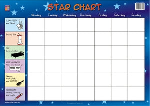 Star Chart Wallchart (Prep) 9781920696450