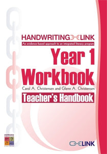 Handwriting LINK Year 1 Workbook Teacher Guide 9781921016059