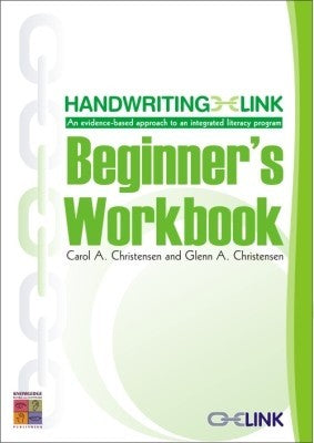 Handwriting Link Beginner's Workbook 9781921016875