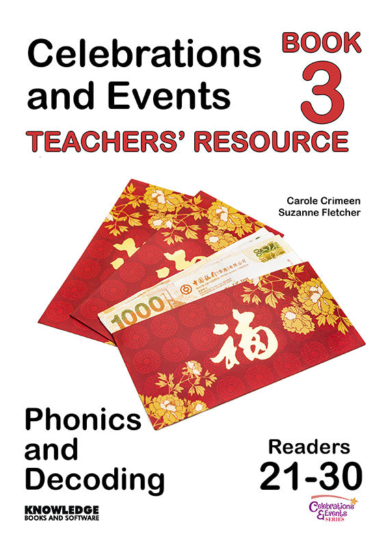 Celebrations and Events Set 2 Readers 21-30 Teacher Resource 9781922370808