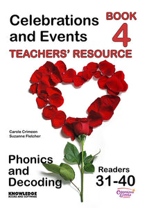 Celebrations and Events Set 2 Readers 31-40 Teacher Resource 9781922370815
