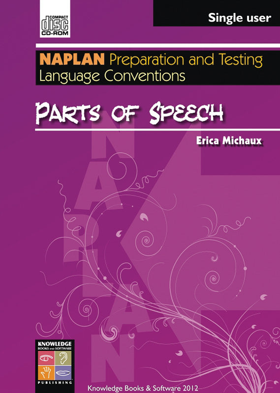 Parts of Speech (PowerPoint CD-ROM)