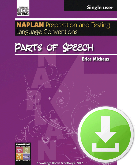Parts of Speech (Downloadable File)