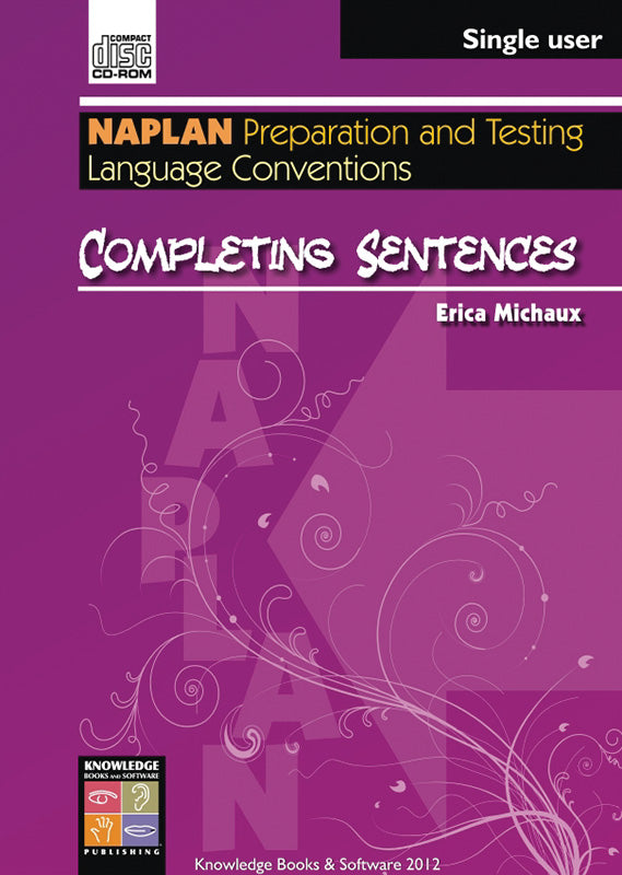 Completing Sentences (PowerPoint CD-ROM)