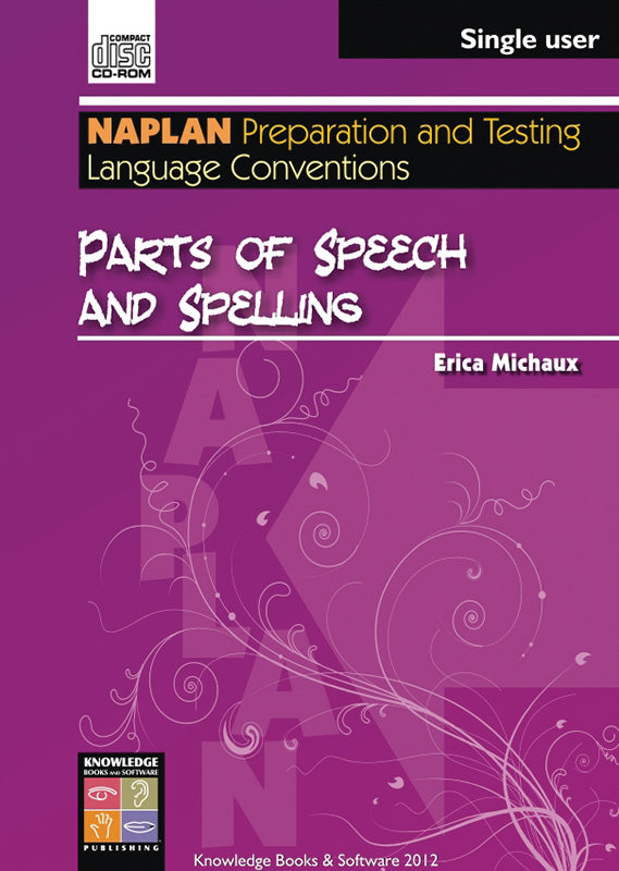 Parts of Speech and Spelling (PowerPoint CD-ROM)