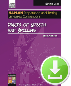 Parts of Speech and Spelling (Downloadable File)