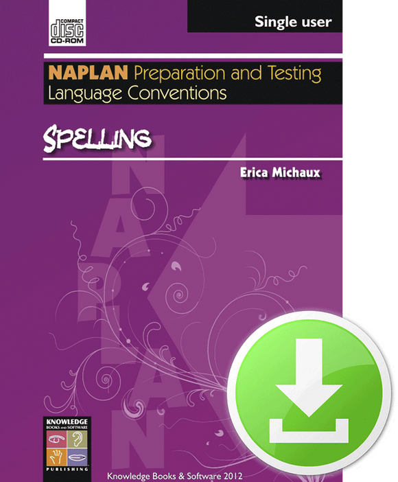Spelling (Downloadable File)
