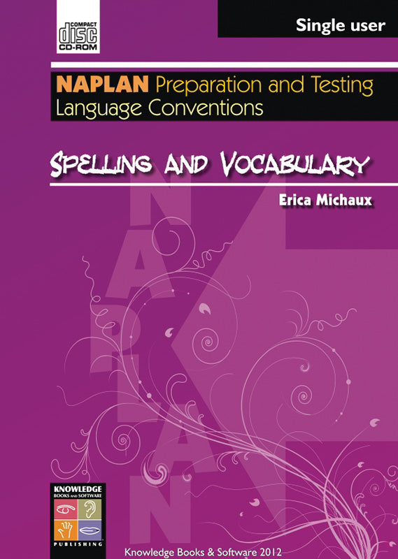 Spelling and Vocabulary (PowerPoint CD-ROM)