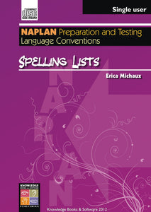 Spelling Lists (PowerPoint CD-ROM)