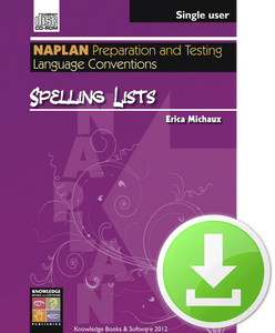 Spelling Lists (Downloadable File)