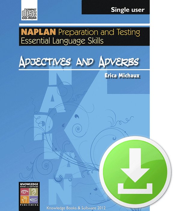 Adjectives and Adverbs (Downloadable File)