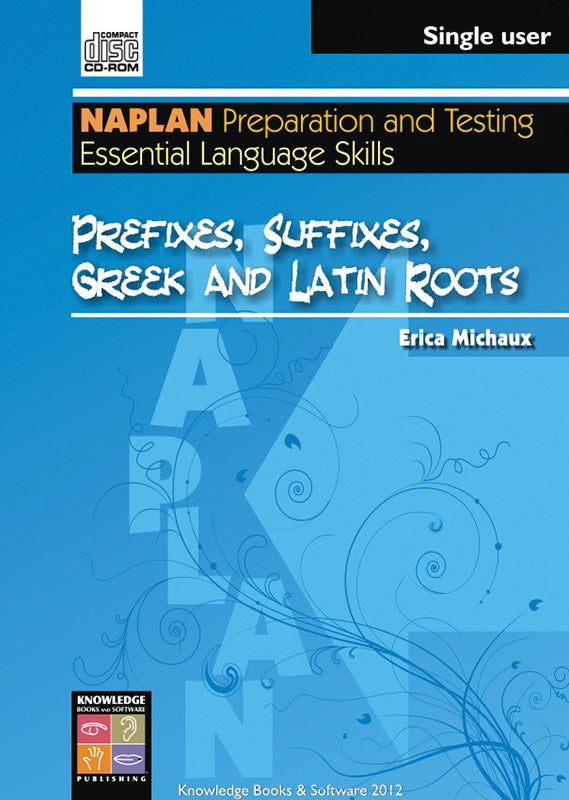 Prefixes, Suffixes, Greek and Latin Roots (PowerPoint CD-ROM)