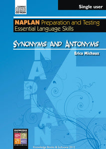 Synonyms and Antonyms (PowerPoint CD-ROM)