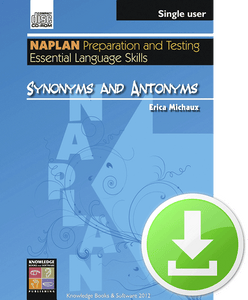 Synonyms and Antonyms (Downloadable File)